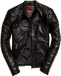 Superdry Hero Leather Racer Jacket