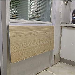 Tables Murale de Salle à Manger Pliante, Bureaux muraux for Petits espaces, Murale en Bois, Facile à Installer, Constructi...
