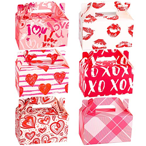 24 Packs Valentine's Day Treat Boxes