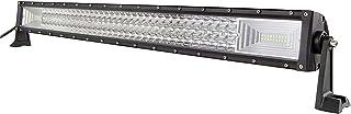 AUXTINGS 82 cm 32 pulgadas triple fila 7D LED barra de luz de trabajo Spot Flood Combo Beam DC 12V-24V 6000K vehículos todoterreno 4x4 Atvs Utvs