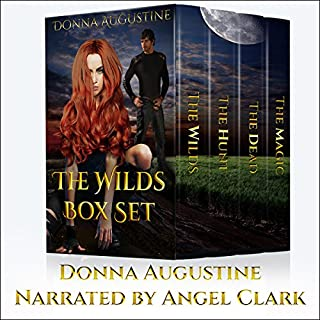 The Wilds Box Set: Books 1-4                   By:                                                                                                                                 Donna Augustine                               Narrated by:                                                                                                                                 Angel Clark                      Length: 32 hrs and 13 mins     375 ratings     Overall 4.5