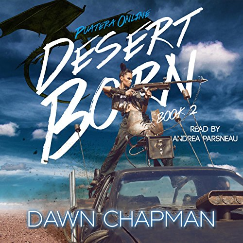 Desert Born audiobook cover art