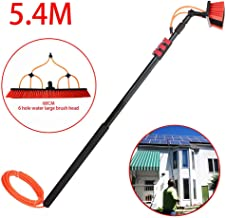 JSZMQD Photovoltaic Panel Cleaning Tool, Telescopic Cleaning Rod, 3.6m-9m Washing Set Equipment Extension Pole Cleaning fo...