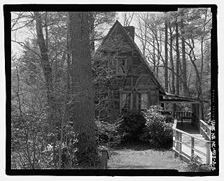 HistoricalFindings Photo: Biltmore Forestry School,Cantrell Creek Lodge,Brevard,Transylvania County,NC,6