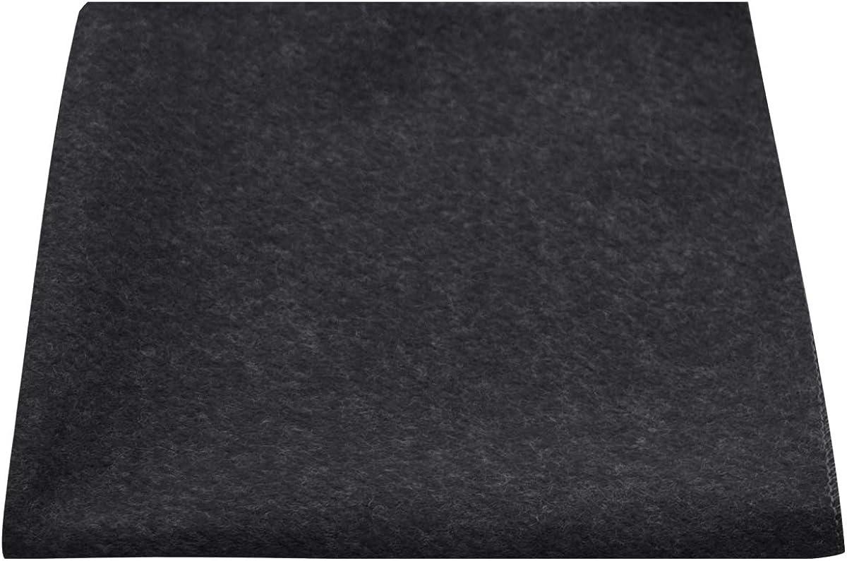 Luxury Black Donegal Tweed Pocket Square, Handkerchief, Tweed