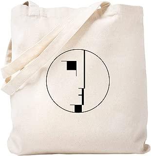 CafePress BAUHAUS LOGO Natural Canvas Tote Bag, Reusable Shopping Bag