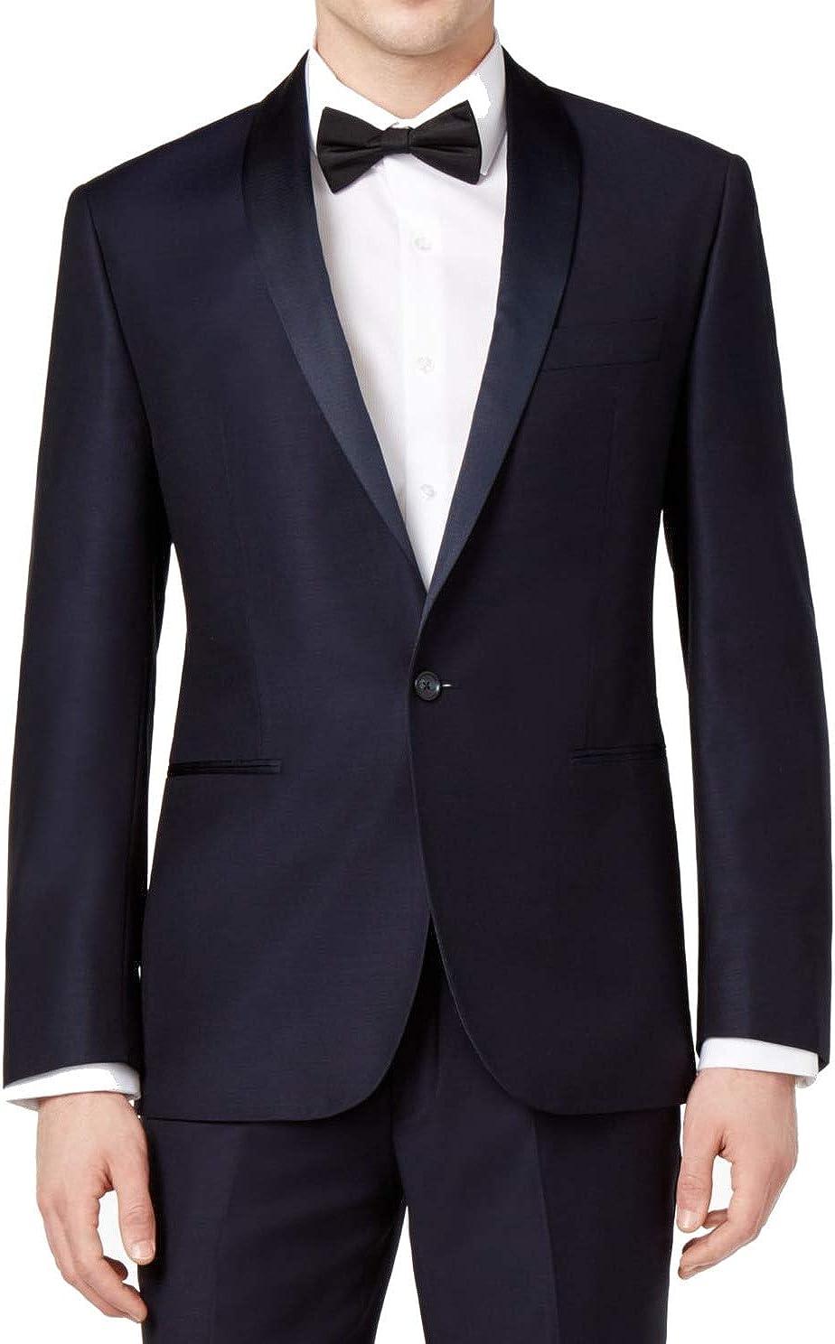 Ryan Seacrest Distinction Mens Modern-Fit One Button Tuxedo Jacket