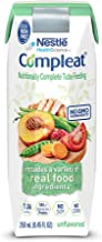 Compleat, Nutritionally Complete Tube Feeding Formula, Unflavored, 8.45 Ounce (24 Count)