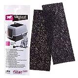 Filtro L483 Kit de filtros de Recambio para Las Cajas de Arena para Gatos GENICA, Filtros de carbón Activo Que neutralizan los olores, Paquete de 3 Unidades, 24 x 10 x h 5,3 cm