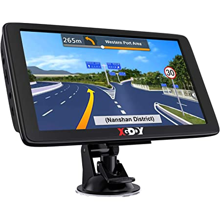 Xgody GPS Navigation for Car Truck GPS Navigation System 2021 Map 7 Inch Touchscreen Car GPS Navigator 8GB 256M with Voice Guidance and Speed Camera Warning Auto GPS with Lifetime Free Map Update