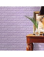 FAMILIZO PE de Espuma de 3D Wallpaper DIY Pared Pegatinas Decoración de Pared en Relieve Piedra de ladrillo