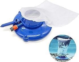 SMM Kit de aspiradora de Piscina portátil,Kit de Herramientas de Limpieza portátil,Bolsa de Malla Ultrafina,Cepillo para aspiradora de Fuente de Estanque, Accesorios de Limpieza