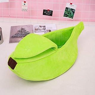 Perrera Lindo Banana Cat Bed House Durable Dog Kennel Gatos Productos para Mascotas Cama Portátil para Dormir De Invierno ...