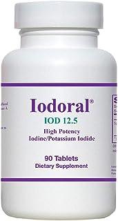 Optimox Iodoral 12.5 Mg (90 tabs) (Pack of 3)