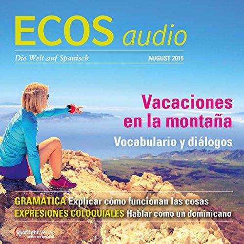 ECOS audio - Vacaciones en la montaña. 8/2015 Titelbild