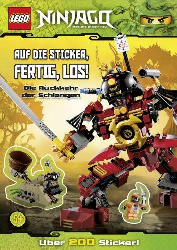 LEGO Ninjago: Auf die Sticker, fertig, los! Die Rückkehr der Schlangen