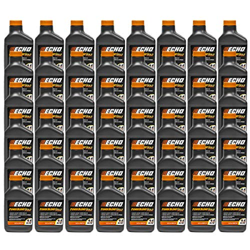 48PK Echo Oil 6.4 oz Bottles 2 Cycle Mix for 2.5 Gallon – Power Blend 6450025