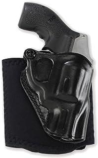 Galco Ankle Glove Holster for S&W J Frame 640 Cent 2 1/8 Inch .357, RH, Black - AG158B