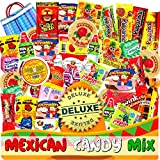Mexican Candy Mix Assortment Snack (86 Count) Dulces Mexicanos Variety Of Best Sellers SPICY and SWEET bulk candies, Includes Rebanadita, Pelon, Pulparindo, Mazapan, Duvalin by JVR TRADE (COMBINED)