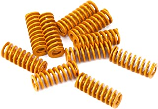 LEOWAY 8mm OD 20mm Long Light Load Compression Mould Die Spring Yellow for Heated Bed Ender 3 CR-10 CR-10Mini CR-10S Serie...