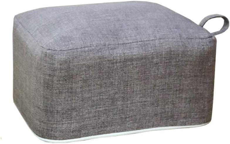 Square Pouf Foot Stools Comfortable M Seat Floor Ottoman Fixed price for sale 70% OFF Outlet Cushion