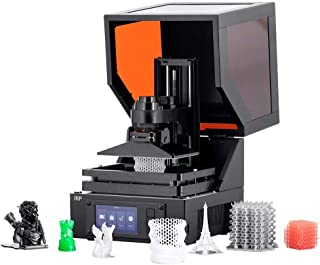 Monoprice Mini SLA LCD Resin 3D Printer (Updated Version) Build Area 118 x 65 x 110 mm, High Resolution, Auto Leveling, Wi-Fi Web UI, 2K LCD Curing Screen