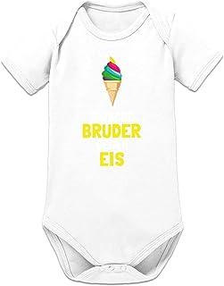 Shirtcity Tausche Bruder Gegen EIS Baby Strampler by
