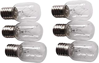 6 X Whirlpool 8206232A Light Bulb