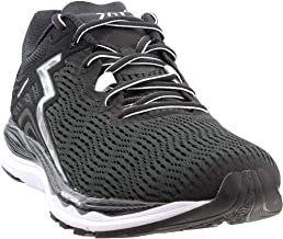 361 Men's Sensation 3 Running Shoe Sneaker, Black/Silver, 7.5 M US