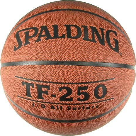 Buy Bargain Spalding Intermediate/Women's Medium Channel Synthetic Leather Basketball from (Set of 2...
