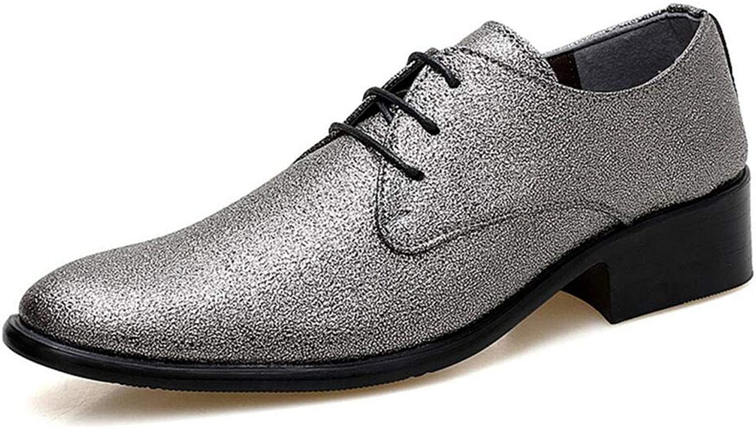 Xxoshoe Men's Leather Dress Oxford shoes Brogue Wing-Tip Lace Up Modern Business shoes