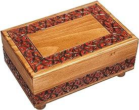Handmade Unique Statement Macrame Necklace Wood Natural Design Forest Fairy Forest  Secrets Secret Box