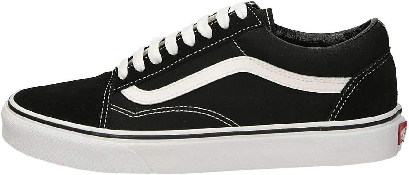 Basket Vans Old Skool Noir et Blanc : Amazon.fr: Chaussures et Sacs