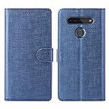 Foluu LG K51S Case, Flip/Folio Cover Wallet Magnetic