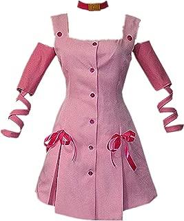 JoJo's Bizarre Adventure Movie Sugimoto Reimi Cosplay Costume Pink Dress Halloween Costume for Christmas Party
