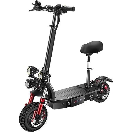 SONGZO Scooters Eléctricos para Adultos 4400 W Motor ...