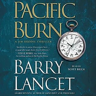 Pacific Burn audiobook cover art