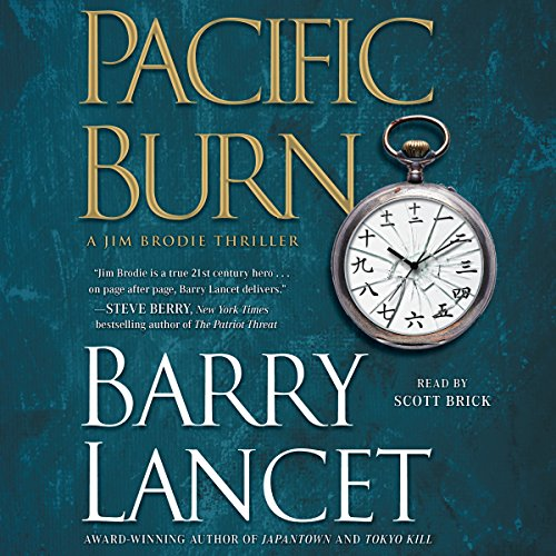 Pacific Burn audiobook cover art