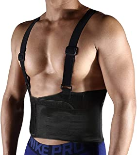 FITTOO Unisex Industrial Work Back Brace for Heavy Lifting Safety