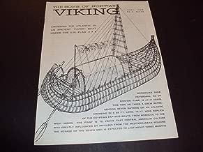 The Sons Of Norway Viking June 1969 No. 6 Vol. 66 Norwegian Thor