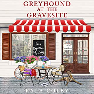 Greyhound at the Gravesite audiobook cover art