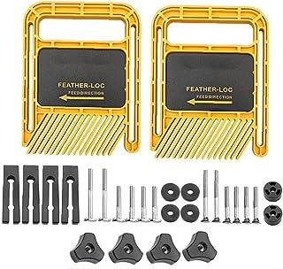 Feather Loc Board Set långa versionen Multi-Purpose Loc Board för Flip gravyr bandsåg Snickeriverktyg Yellow