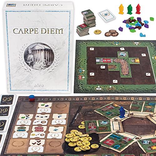 Ravensburger 26926 Carpe Diem, Gioco Alea, Versione Italiana, Strategy Game, 2-4 Giocatori, Età Consigliata 10+