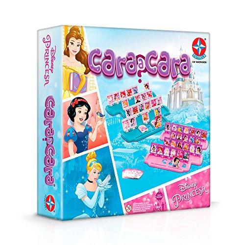 Jogo Cara a Cara Princesas Disney Brinquedos Estrela