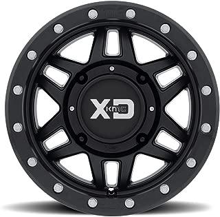 XD ATV XS228 MACHETE Satin Black Wheel (14 x 10. inches /4 x 86 mm, 0 mm Offset)