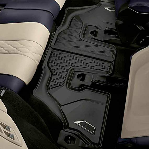 PantsSaver Custom Fit Automotive Floor Mats for BMW 750i xDrive 2018 All Weather Protection for Cars Trucks Heavy Duty Total Protection Black SUV Van