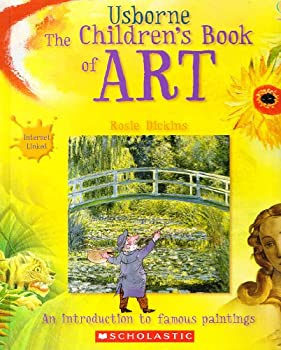 Hardcover The Children's Book of Art : Internet Linked Book