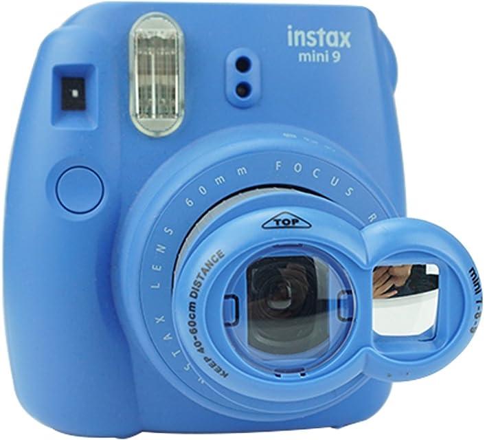 Anter Close Up Lente con Instax Lente Selfie Para Fujifilm Instax Mini 9 Mini 8 Mini 8+ Mini 7s Cámara de Película Instantánea - Cobalt Blue