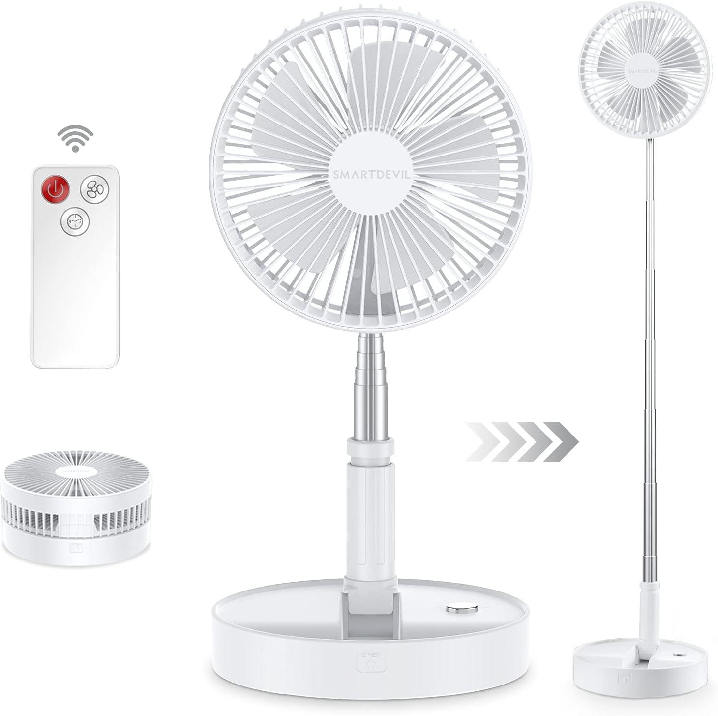SmartDevil Stand Fan 2-in-1 Folding Tele Now on sale Portable Free shipping New Multi-Purpose