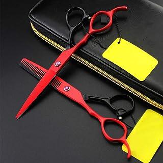 Hairdresser Set Scissors, Professional Hair Scissors and Hairdressing Thinning Scissors for Salon, Hairdresser Scissors,C,...